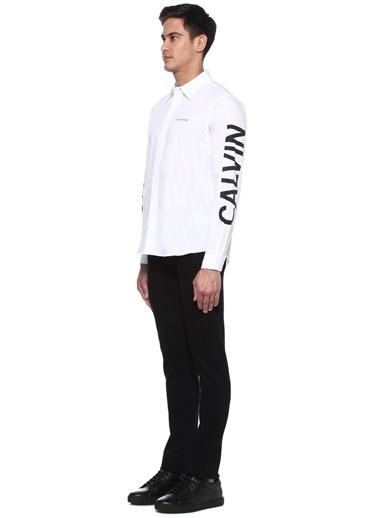 Ck Jeans Gömlek Beyaz